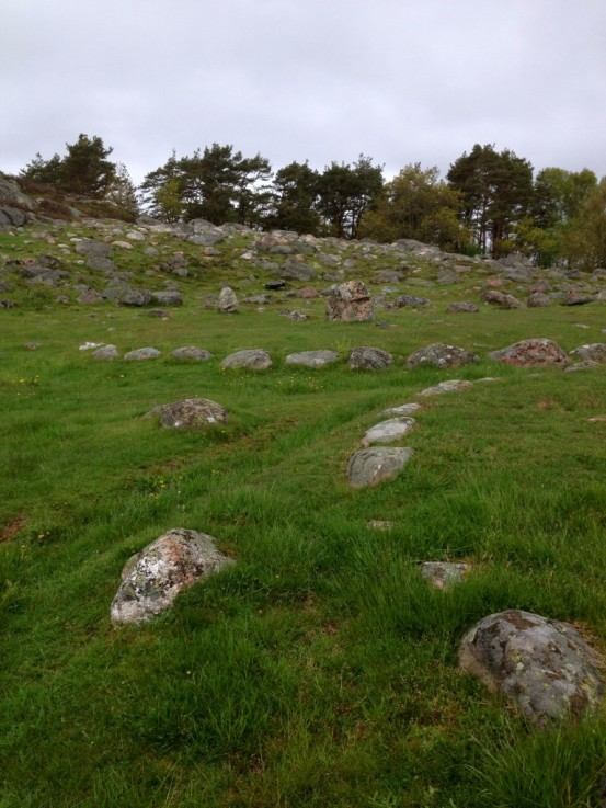Viking graves