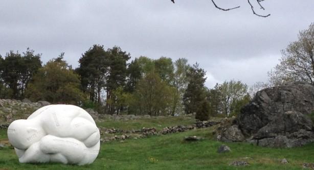 Grand Latent Blanc, Jaume Plensa