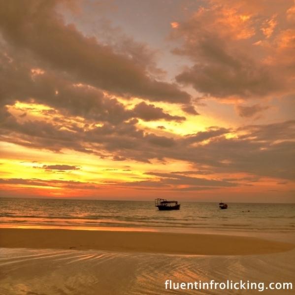 Sunset Koh Rong Cambodia