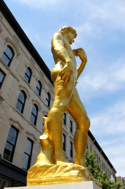The Statue of David in Louisville, Kentucky