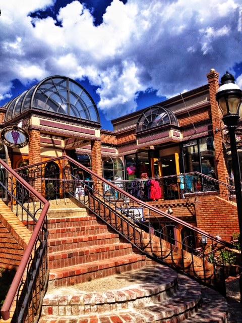 The resort town of Breckenridge, Colorado