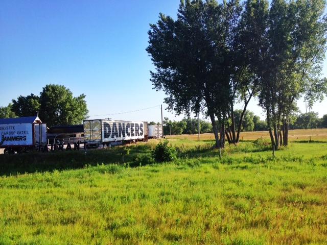 A photo from I-80 in Nebraska