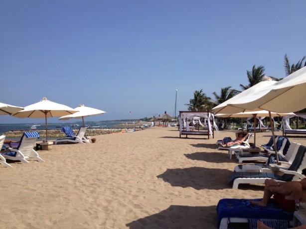 Grand Mirage Resort beach