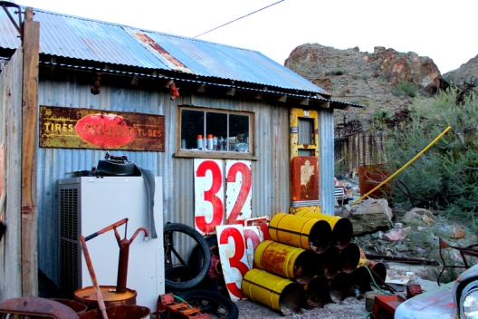 Ghost town of Nelson, Nevada