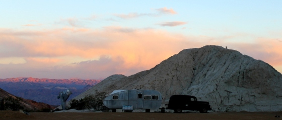 Nelson, Nevada sunset