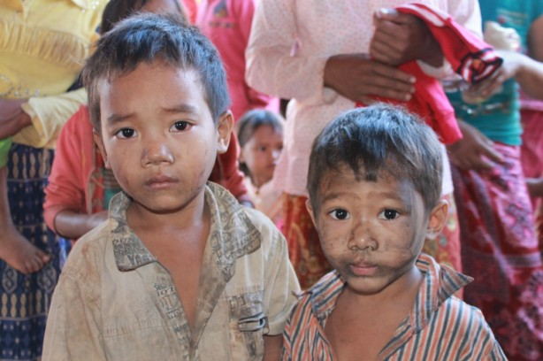 The children in Cambodia's Ratanakiri Province