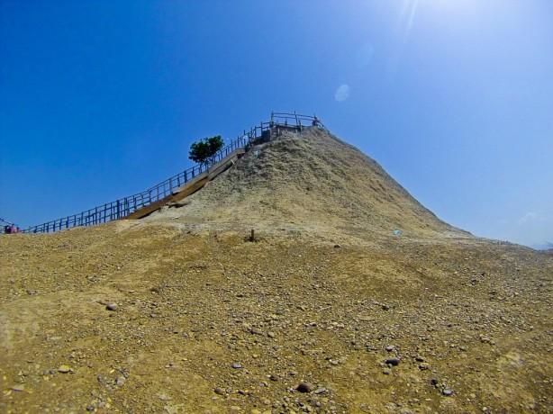 mud volcano, cartagena, colombia