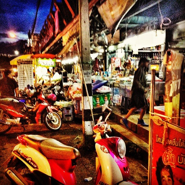 On a budget? Try dining on street food in Chiang Mai
