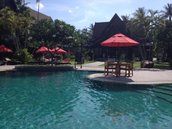 The pool at Amari