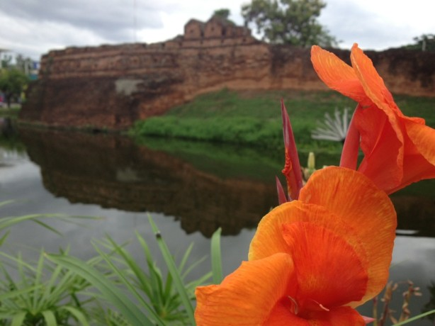 A ride around Chiang Mai's moat should be 20 baht