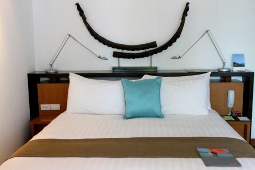 A junior suite at Amari Palm Reef