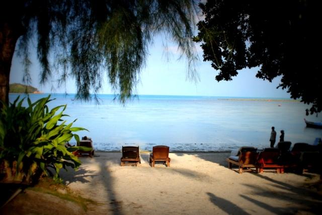 The beach at Amari
