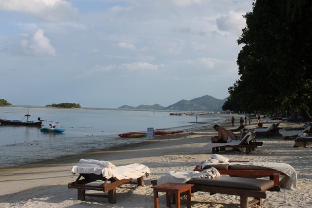 The shore at Amari Palm Reef