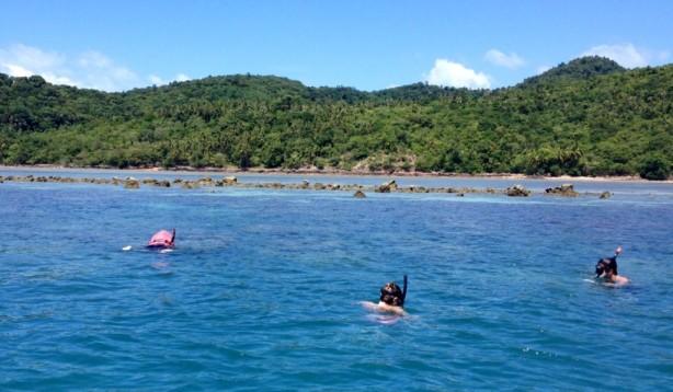 Snorkeling in Samui, Thailand
