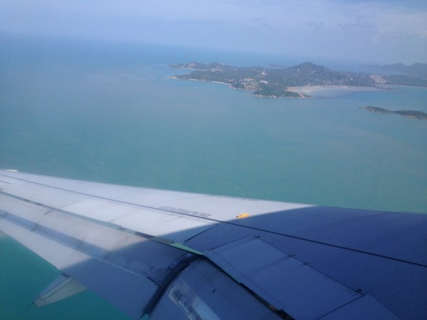 View over Samui airport