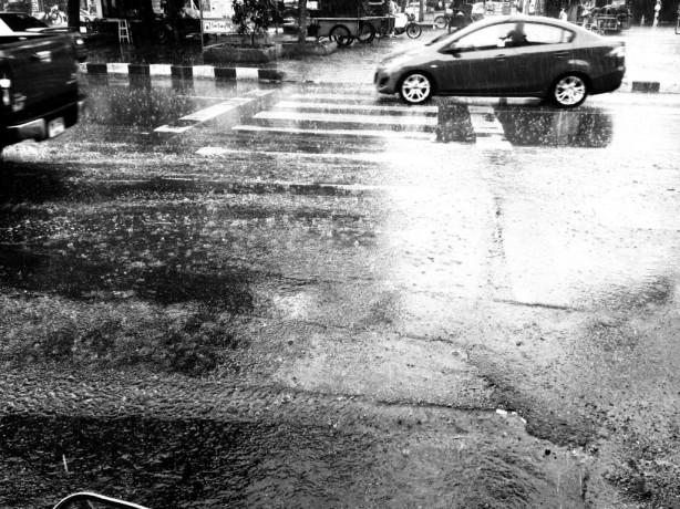 Rainy season in Chiang Mai, Thailand
