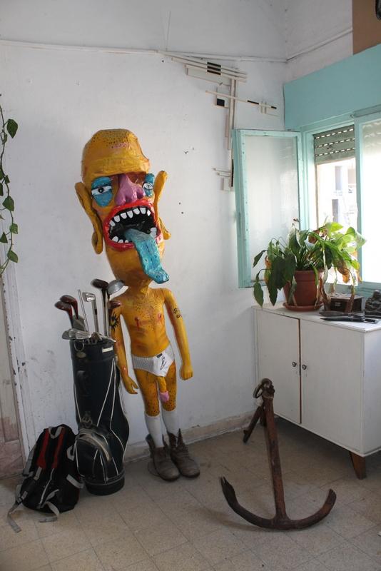 Street artist Dioz's home in Tel Aviv