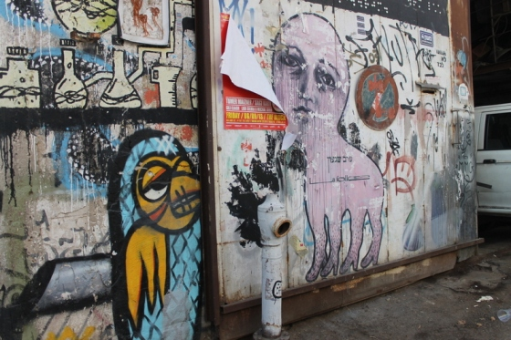More street art in Tel Aviv