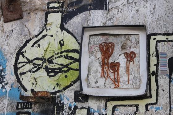 String street art in Tel Aviv