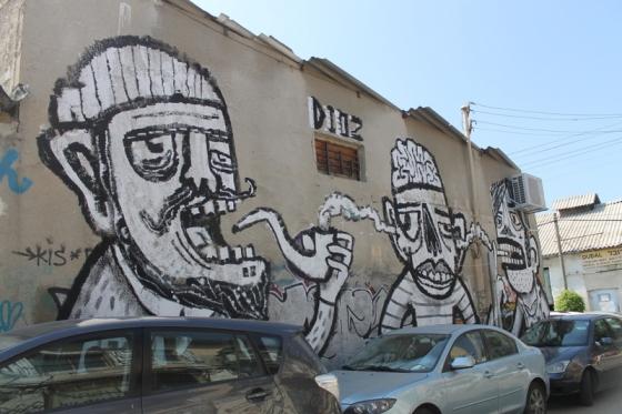 Street art in Florentin in Tel Aviv