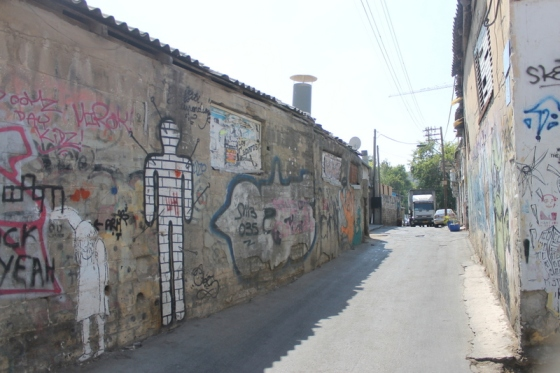A street in Florentin