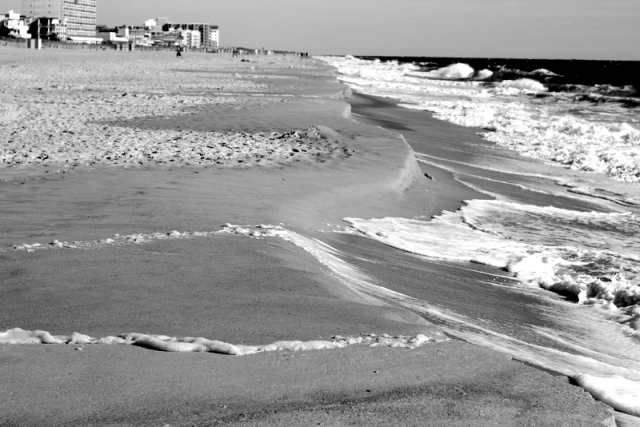 The Rehoboth shoreline