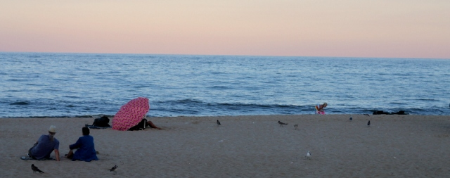 The sunset at Rehoboth Beach
