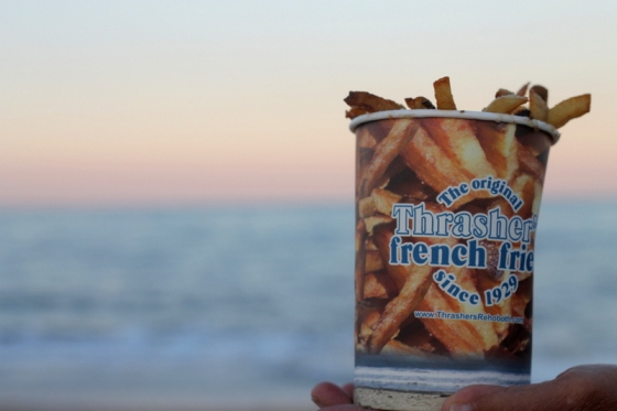 A beach staple, Thrashers French Fries