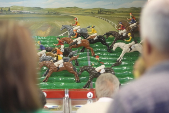 Horse racing game in Rehoboth
