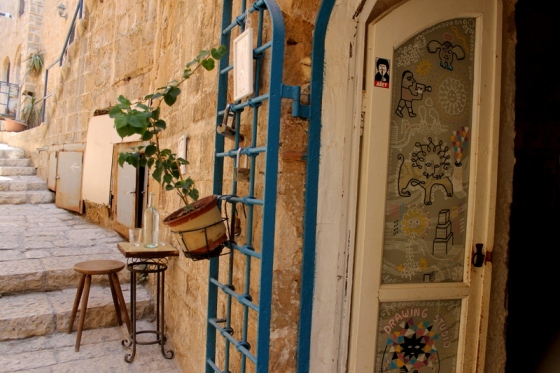 The old city of Jaffa in Tel Aviv, Israel