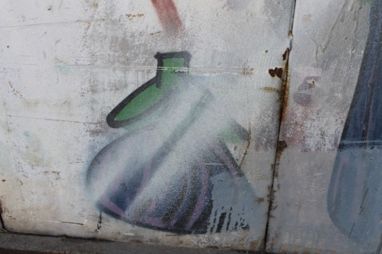 Street art by Eggplant Kid