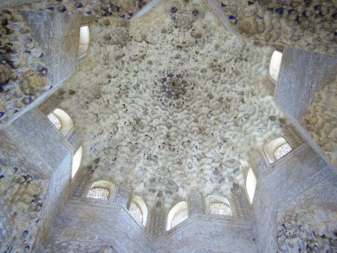 The majestic Alhambra in Granada, Spain