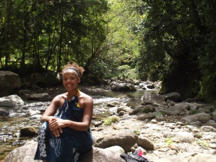 Alyssa in Grand Riviere