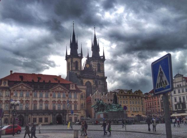 The Old Town in Prague