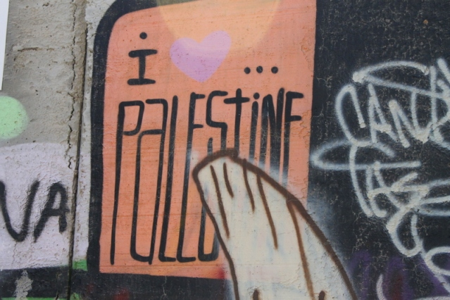 Palestine art on the wall