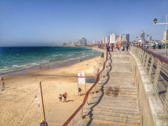 Jaffa Beach in Tel Aviv