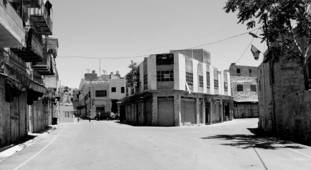 A hotel in Hebron