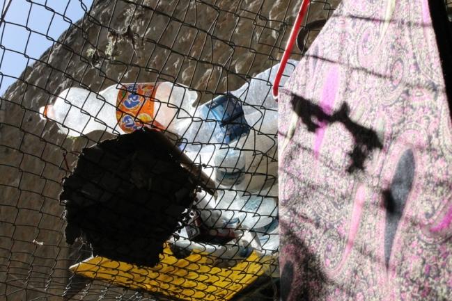 Trash in Hebron