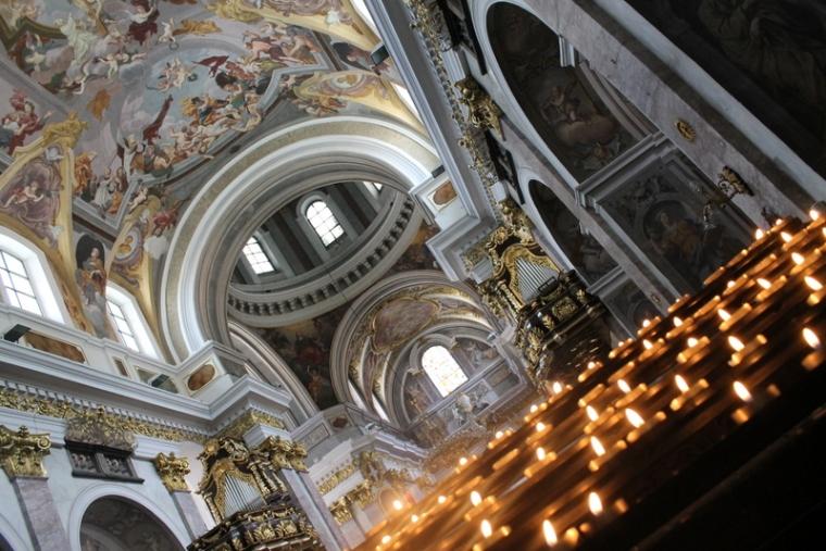 St Nicholas Cathedral in Ljubljana