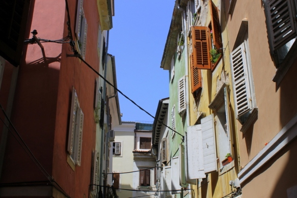 Homes in Piran