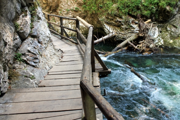 Vintgar Gorge in Slovenia