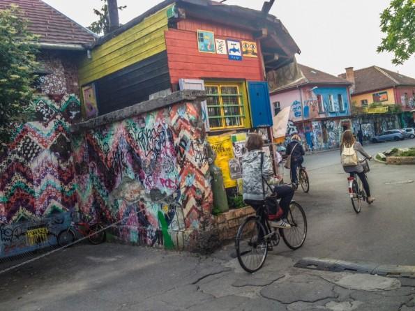 Bike ride in Ljbuljana
