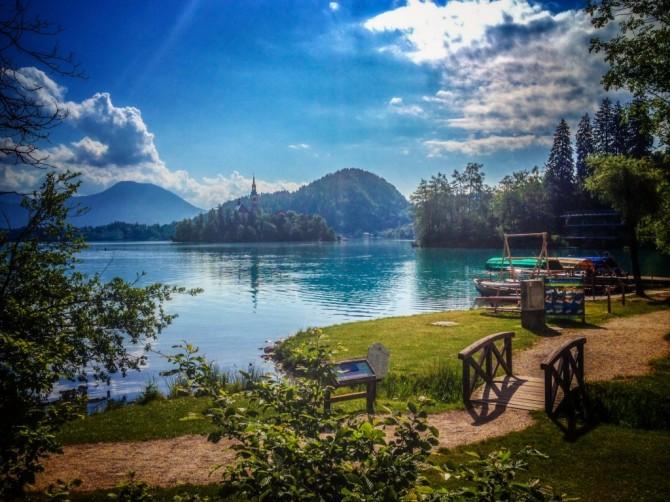 Slovenia's Lake Bled