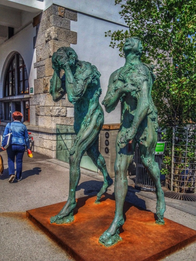 Jackov Brodar Adam and Eve Ljubljana