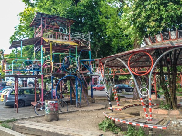 A look at day life in Metelkova