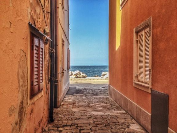 Piran and a glimpse of the Adriatic Sea