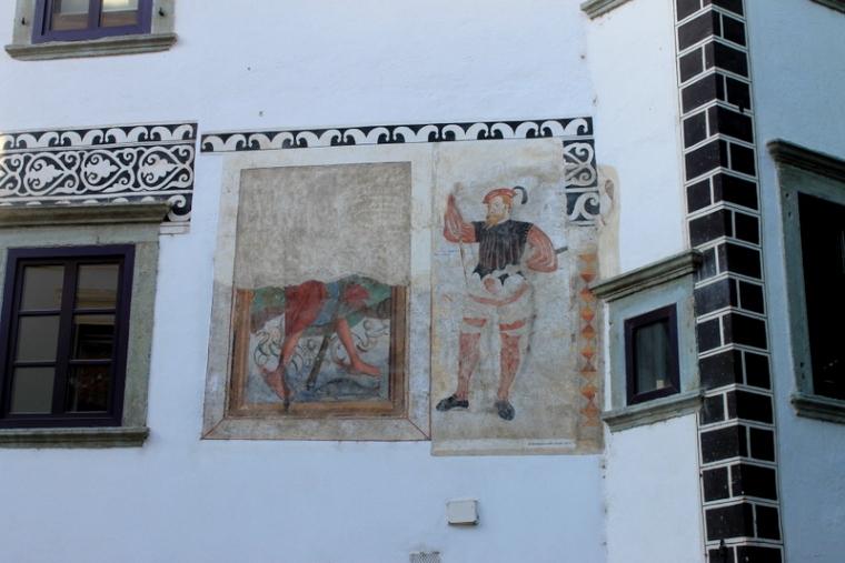 History in Skofja Loka, Slovenia
