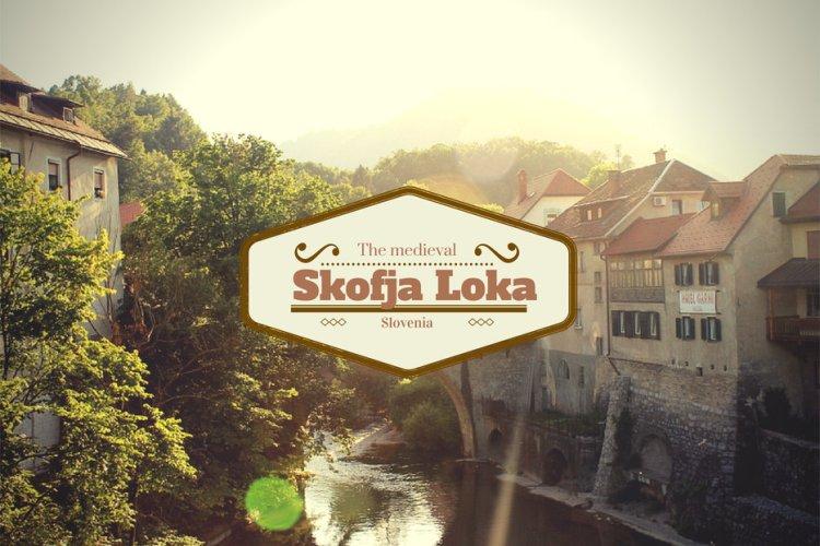 The medieval Skoja Loka in Slovenia