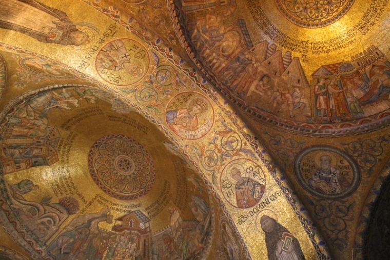St. Mark's Basilica in Venice, Italy
