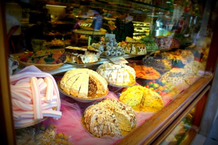Desserts in Venice